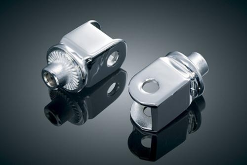 Kuryakyn Splined Rear Footpeg Adapters for Virago 750/1100 (All) 1