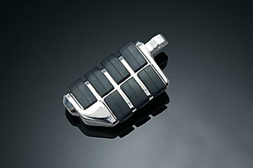 Kuryakyn  Male Mount Pegs ISO Dually Footpegs  -Pair Does not fit the Sportster 48, 72  & '11-12 XL1200C Models
