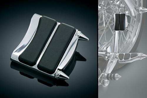 Kuryakyn Stiletto Brake Pedal Pad for FXDWG Wide Glide '93-08 & Fat Bobs w/ Forward Controls