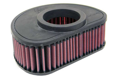 K & N  High-Flow Air Filter for Vulcan 1600 Classic '03-08