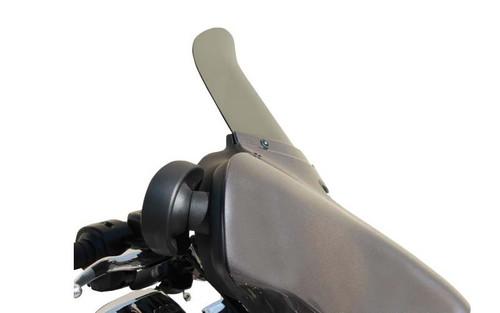 "Wind Vest Replacement Windscreen for '14 FLHX/FLHT & FL Trikes -9"" Dark Smoke"