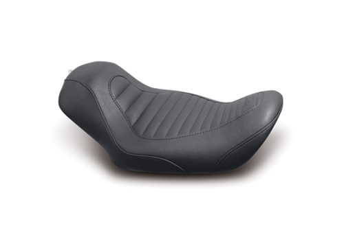 Mustang  Tripper Solo Tuck and Roll Seat for '06-17 Dyna Models
