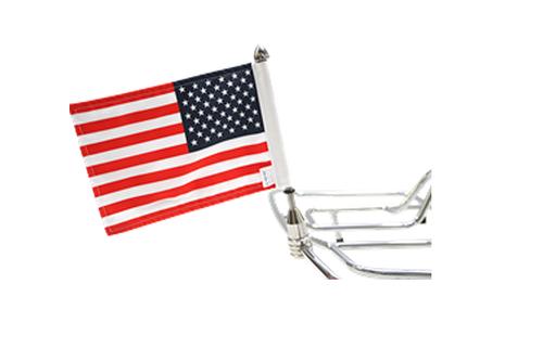 "PPI Pro Pad Tour Pack Solid Flag Mount -9"" Pole w/ 6"" x 9"" Flag"