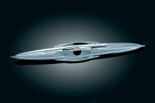 Kuryakyn Trunk Latch Trim for '09-'12 FLHTCUTG Tri Glide Ultra Classic & '10-'11 FLHXXX Street Glide Trike