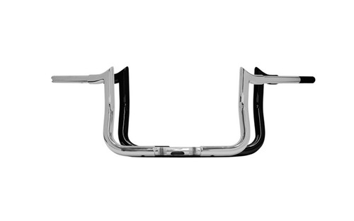 Paul Yaffe 1.25 inch Bagger Monkey Bars for '86-17 FLHT/FLHX, H-D FL Trike - 8 inch - Chrome