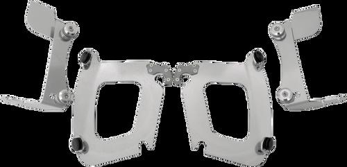 Memphis Shades Bullet Fairing Hardware for VTX1300S/R '03-09 w/ Covered Forks -Polished