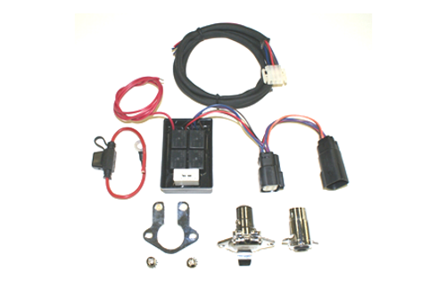 Khrome Werks Plug-and-Play Trailer Wiring Connector with Isolator for '96-10 FLT (except '10 FLHX/FLTRX & '09-10 SE CVO)
