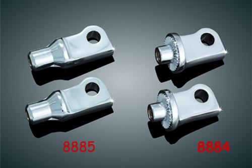 Kuryakyn Splined Footpeg Adapters for '10-13 XL1200X, '11-13 XL1200C & '12-13 XL122V -Pair