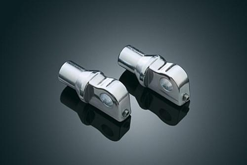 Kuryakyn H-D Type Male Footpeg Adapters with Adjustable Stop