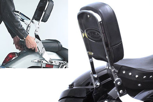 National Cycle-Paladin  QuickSet3 Backrest for Volusia 800 '01-04, C50, M50 & C90  '05-09 QuickSet3 Mounting System Sold Separately