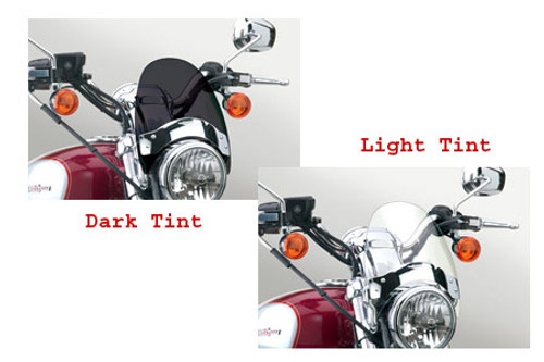 National Cycle Flyscreen Windshield for Legend TT '99-02 & Adventurer '96-02 -Dark Tint