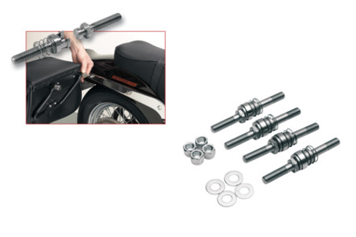 Cycle Visions Barebacks for '91-05 FXD/FXDWG, '90-02 FLSTF & '84-02 FXST -Kit