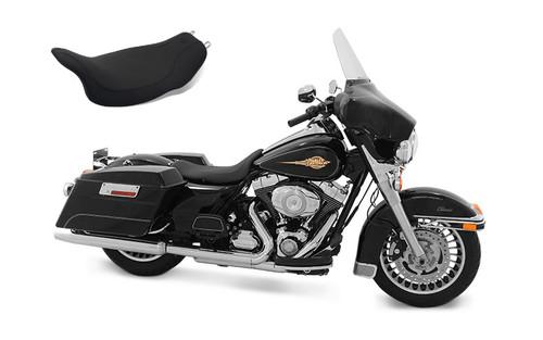 Mustang Seats RunAround Solo Seat for Harley Davidson Touring Models 2008-Up