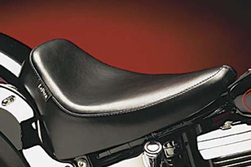 LePera Silhouette Deluxe Solo Seat for '00-05 FXST & '00-07 FLST (Except FXSTD,FLSTN & '07 FLSTF)