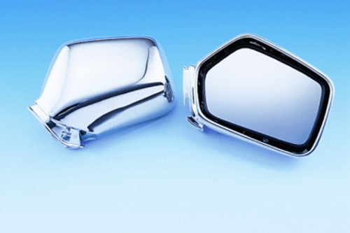 Show Chrome Chrome Mirror Units for GL1500/1600 -Pair