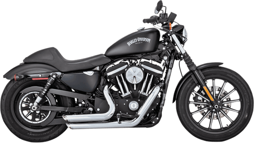 Vance & Hines Shortshots Staggered Exhaust System for '14-Up XL Sportster - Chrome
