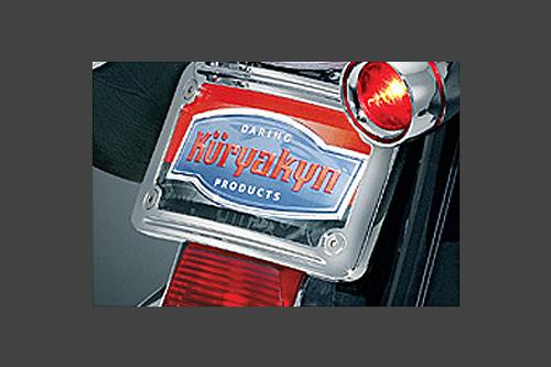 Kuryakyn Curved License Plate Frame