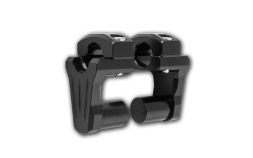 "Rox Speed FX Pivoting Risers for 1"" Diameter Handlebars -2"" Rise, Black"