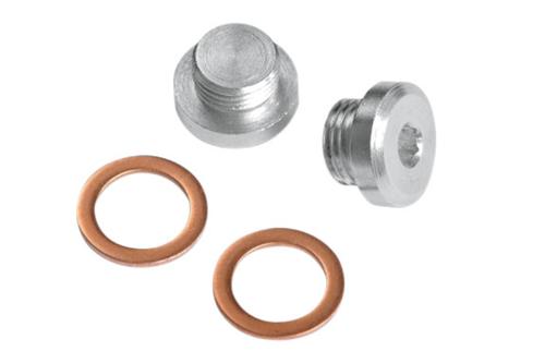 Vance & Hines O2 Sensor Port Plug Kit -12mm