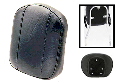 Mustang  Small Sissy Bar Pad  for Tall Cobra Sissy Bars -Plain/Vinatge