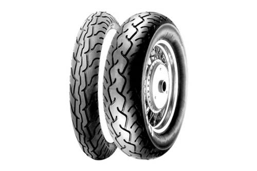 Pirelli MT66 Route 66 Value Added Cruiser/Touring Tires FRONT 100/90-18   BLK  TL  56H  -Each