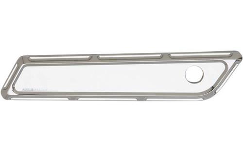 Arlen Ness Billet Saddlebag Latch Covers for '14-15 FLHT/FLHX/FLHR -Chrome, Beveled
