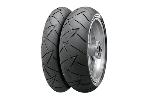 Continental Tires Conti Road Attack 2 FRONT 120/60ZR-17 (55W) -Each