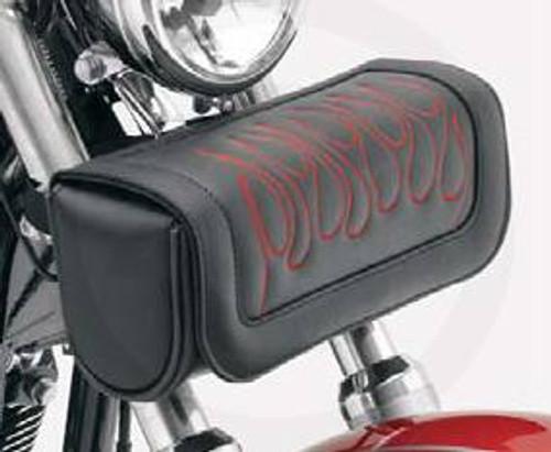 Saddlemen  Highwayman Tattoo Tool Pouch - Dark Red