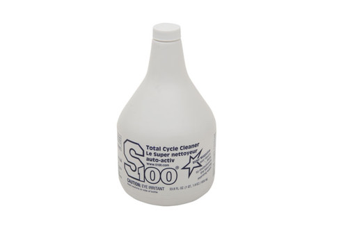 S100 Total Cycle Cleaner Refill  1 Liter Bottle