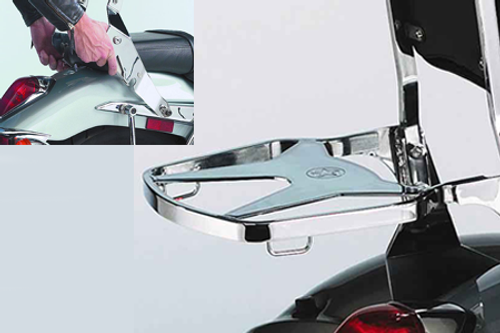 National Cycle-Paladin  QuickSet3 Luggage Rack for Volusia 800 '01-04, C50, M50 & C90 '05-09 QuickSet3 Mounting System Sold Separately