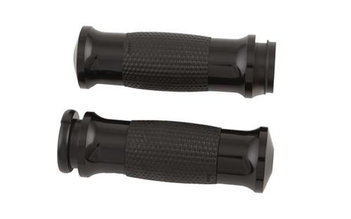 Avon Grips Air Gel Grips for '81-Up H-D Models w/ Cable Throttle (except '08-Up FLHT/FLHR/FLSX/FLTR/TRIKES w/ Air Reservoir in Handlebars) -Black