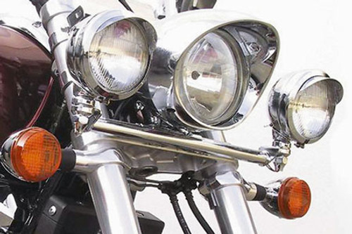 National Cycle Chrome Light Bar for VTX1800C/R '02-07, VTX1800F '05-08 & VTX1800N '04-08