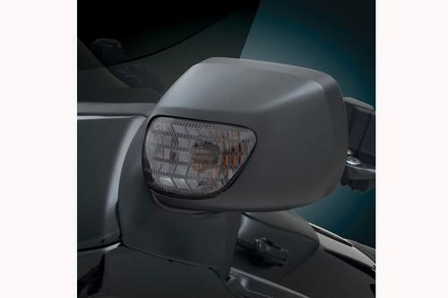 Show Chrome Smoke Lens Turn Signal Mirror Light for GL1800 '01-Up