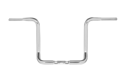 Burly Brand 1 1/4 inch Bagger Ape Hangers for Harley Davidson Electra Glide, Street Glide, Ultra Limited Low and Tri Glide '15-Up - 13 Inch -Chrome