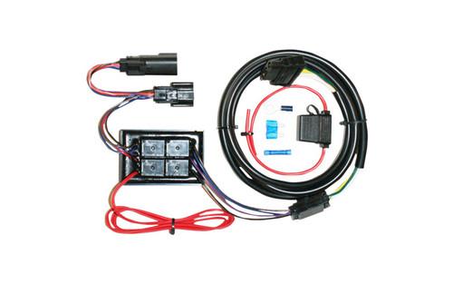 Khrome Werks Plug N' Play Trailer Wiring Kit for '14-Up FLHX/FLHXS/FLHTCU/FLHTK/FLHTCUTG/FLHRSE Models -Each