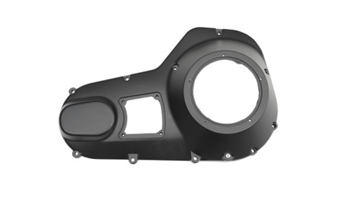 Drag Specialties Aluminum Outer Primary Cover for '99-06 FLHT/FLHR/FLTR/FLHX -Black Replaces OEM #60665-99 & 60507-77