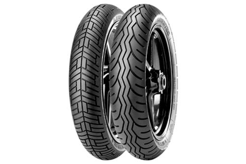 Metzeler Lasertec Sport Touring Bias Tires 100/90-19 TL (57V) -Each