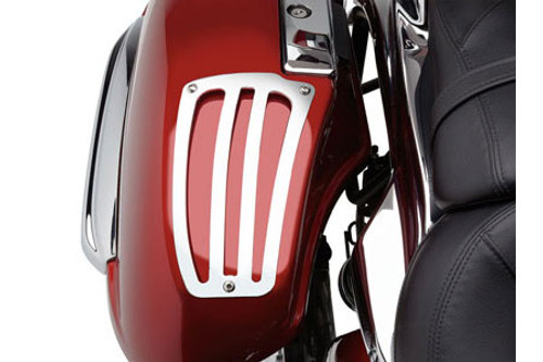 Cobra Saddlebag Lid Guards for Nomad/Voyager 1700 '09-17 - Set