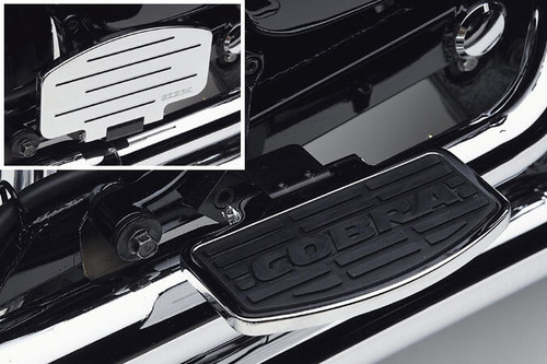 Cobra Rear/Passenger Floorboards for M109R '06-up -Classic Style