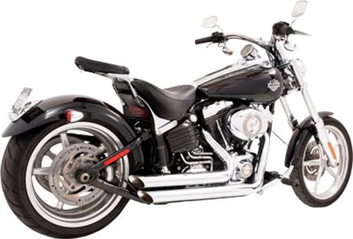 Freedom Performance Exhaust Amendment System for '08-11 Rocker & '13-17 Breakout -Chrome