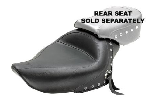 Mustang  Original Solo Seat for Sportster '04-up (4.5 gallons) -Studded