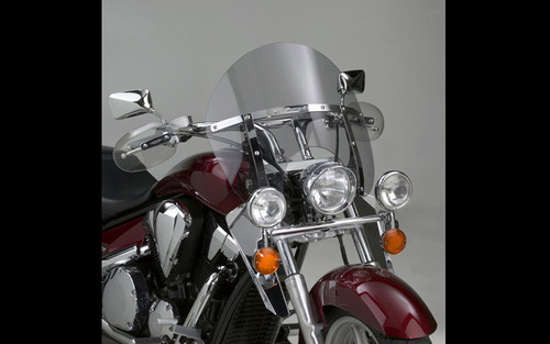 National Cycle SwitchBlade Windshield for Sabre 1300  '10-14 - Chopped Style, Tinted