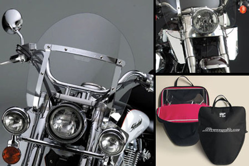 National Cycle SwitchBlade Windshield for Certain Honda Models