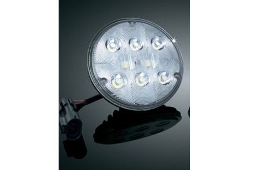 *CLEARANCE* Kuryakyn L.E.D. Passing Lamp for '05-Up H-D Models w/ 4.5 Inch Passing Lamp (Each)
