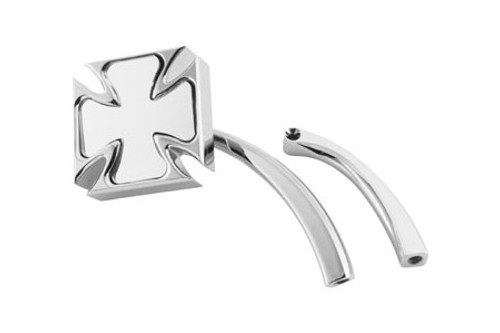 Biker's Choice Maltese Mirror for '65-08 H-D Models or Custom Models Each