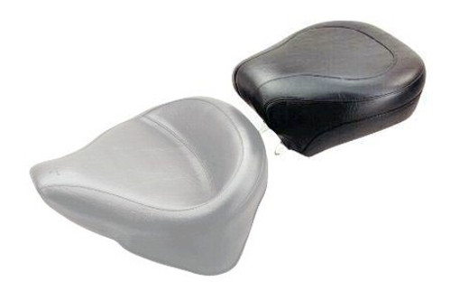 Mustang  Wide Rear Seat for Softail Deluxe '05-15   (w/ Standard Rear Tire) -Plain/Vintage  DOES NOT FIT WITH STOCK LUGGAGE RACK