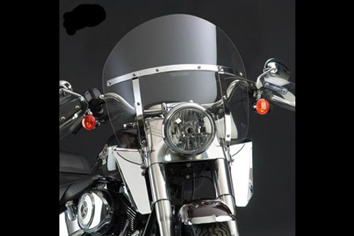 National Cycle SwitchBlade Windshield for Ace 750  '97-00 - Chopped Style, Clear