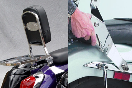 National Cycle-Paladin  QuickSet3 Mounting System for V-Star 1100 Custom '99-Up Sissy Bar Sold Separately