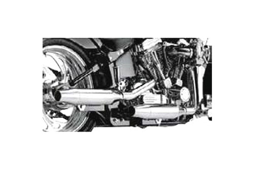 SuperTrapp 2-Into-2  Staggered Internal Disc Exhaust for '86-06 FXST/FLST