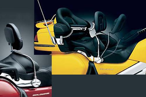 Kuryakyn Rider Backrest for GL1800 '01-10